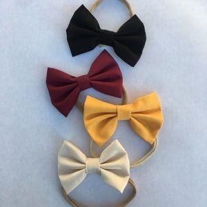 Baby fashion head bows 🌹